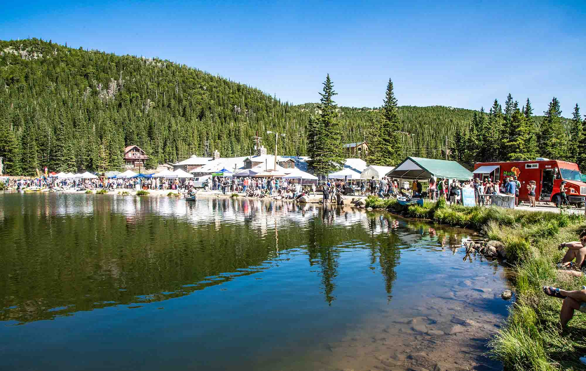 Glacier Fest at St. Mary's Glacier in Idaho Springs, Colorado