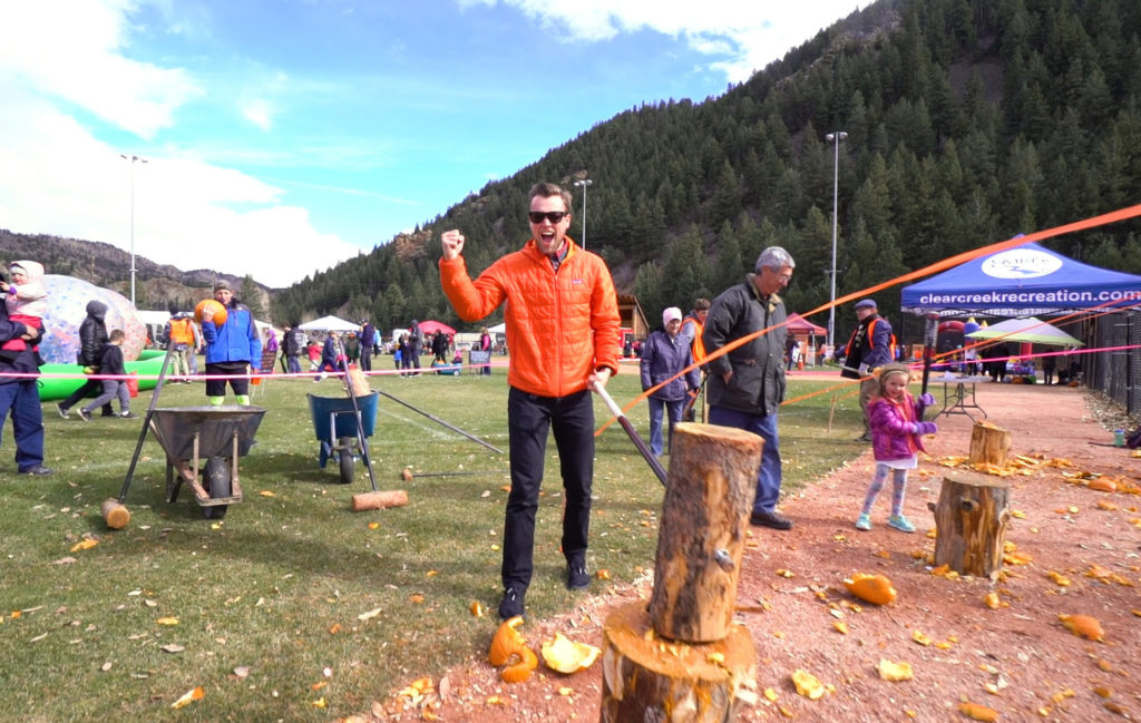 Idaho Springs Pumpkin Smash Idaho Springs Colorado