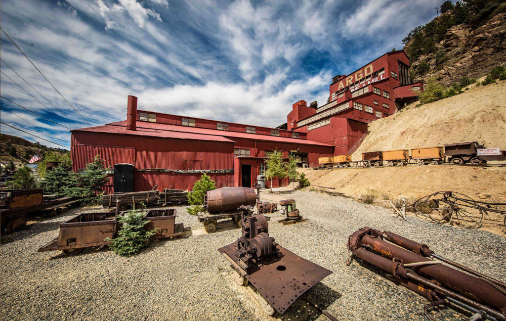 The Argo Gold Mine And Mill Idaho Springs Attraction