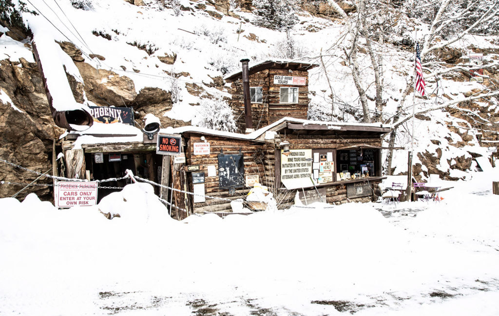 The Phoenix Gold Mine Idaho Springs Mining Attraction