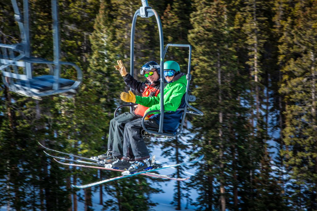 On your way to and from skiing in Idaho Springs?