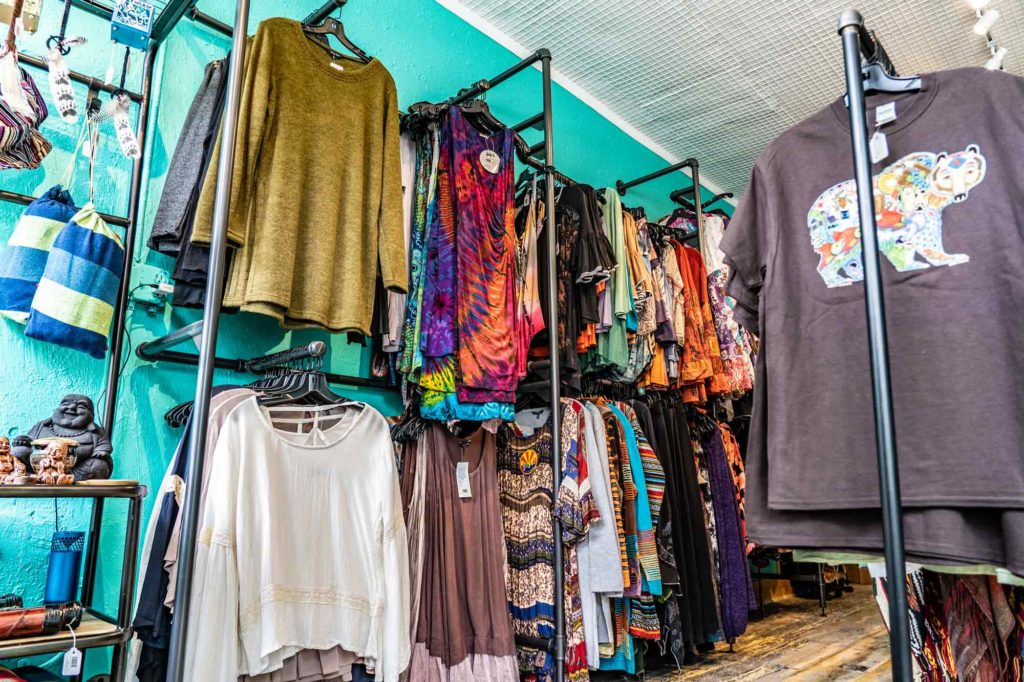 Discover the stores in Idaho Springs like Bohemian Bazaar with a wide variety of apparel, jewelry, and more