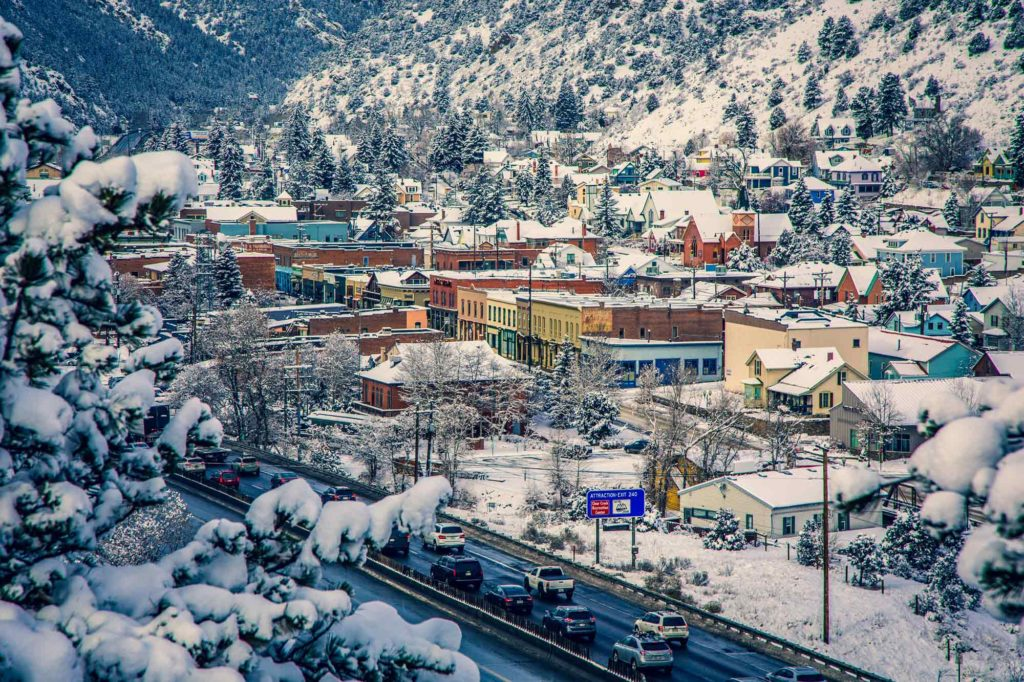 Idaho Springs Weather - winter wonderland, Idaho Springs Colorado Tourism