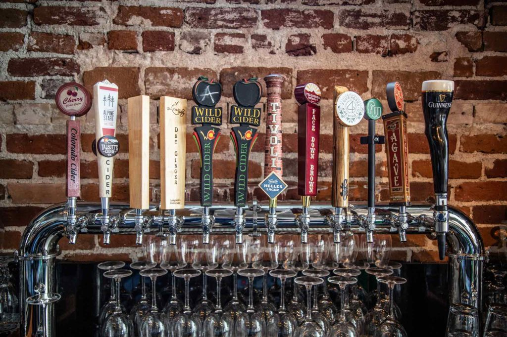 idaho springs cidery with a full bar and ciders on tap