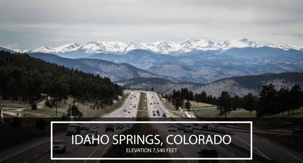 Historic Idaho Springs Video Link