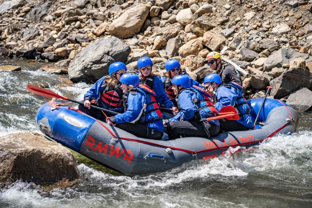 Rocky Mountain Whitewater Rafting in Idaho Springs, Colorado - the Place for you River Rafting Adventures