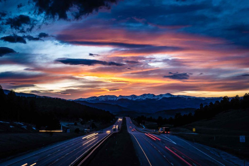 Beautiful Places in Colorado - Genessee Interchange Bridge