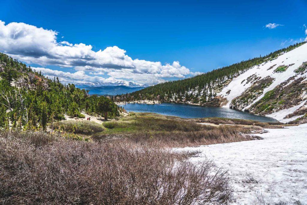 St Mary's Glacier Hike View Idaho Springs, Colorado