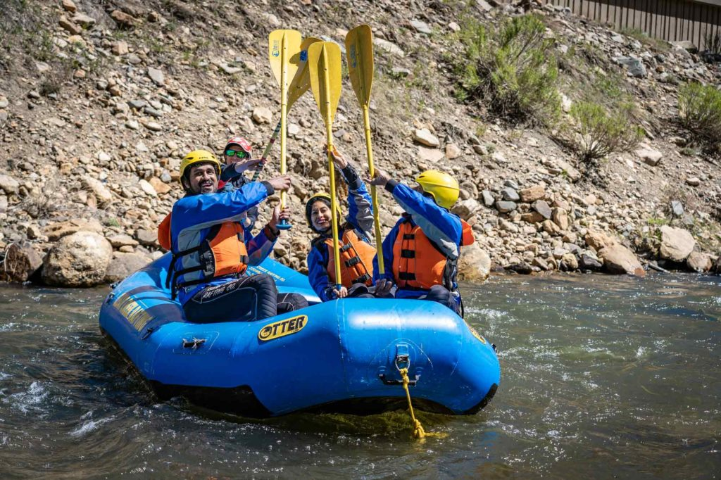 Rafting in Colorado Mountain Towns - Clear Creek Rafting in Idaho Springs, CO