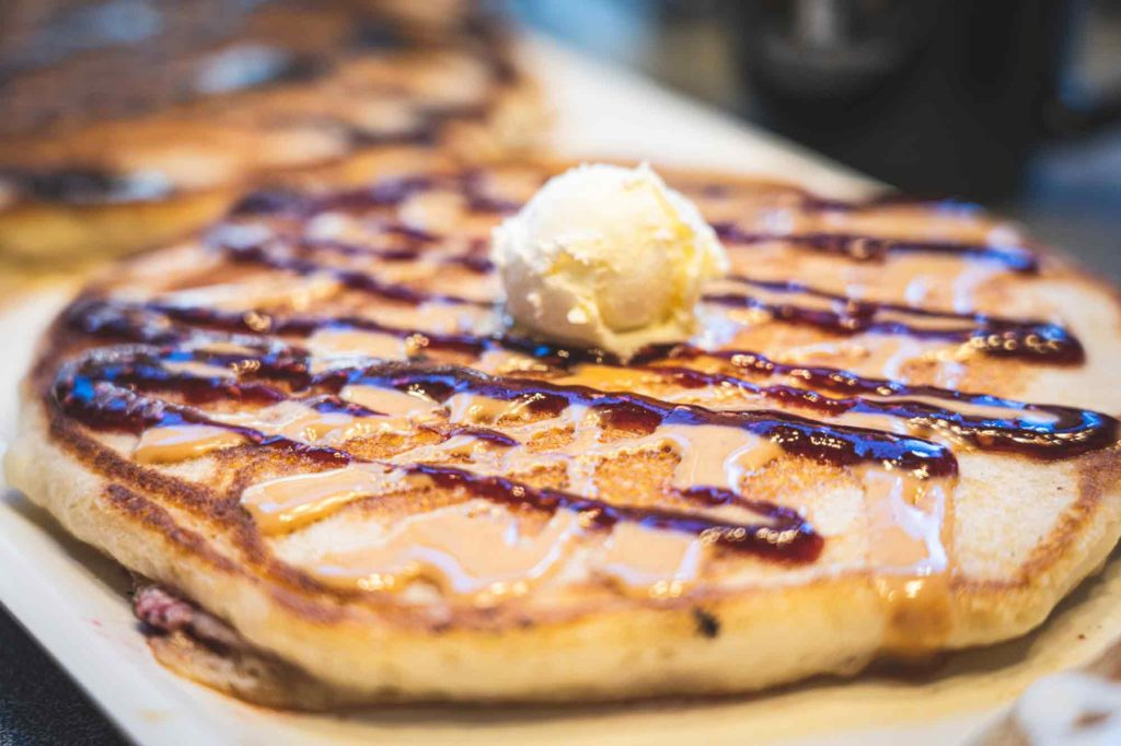 Main Street Restaurant in Idaho Springs - a Colorado Mountain Town - Pancake Flight
