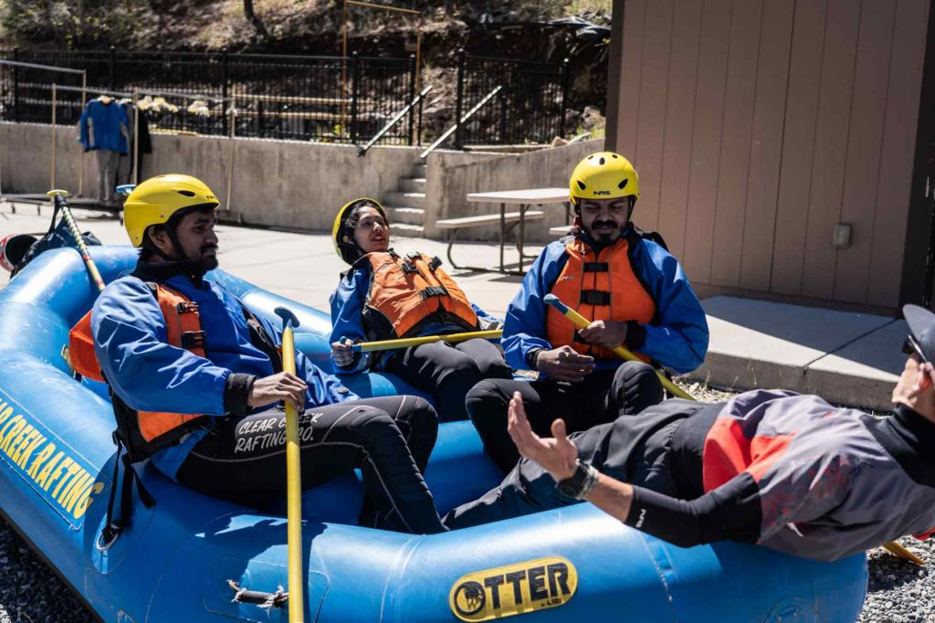 White Water Rafting Safety - Always Listen to Your Guide