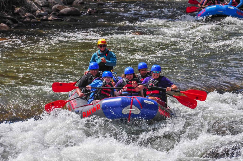 Rafting is one of the top things to do in Idaho Springs