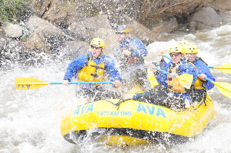 AVA rafting idaho springs