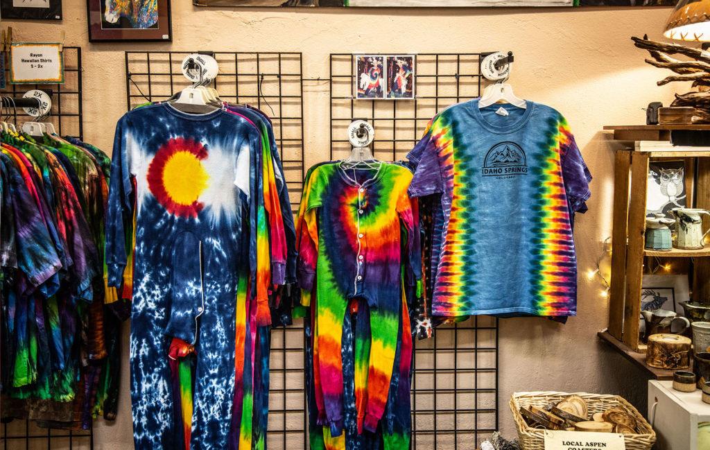 vivid earth tie dyes